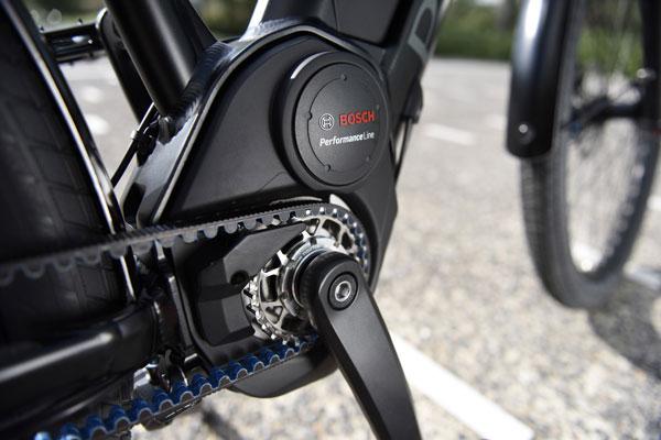 bici eléctrica Peugeot Legend motor