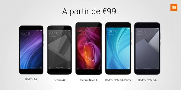 Estos son los móviles de Xiaomi℗ que se pueden adquirir ya en Amazon℗ España