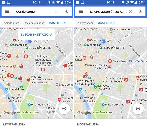 rediseño google maps