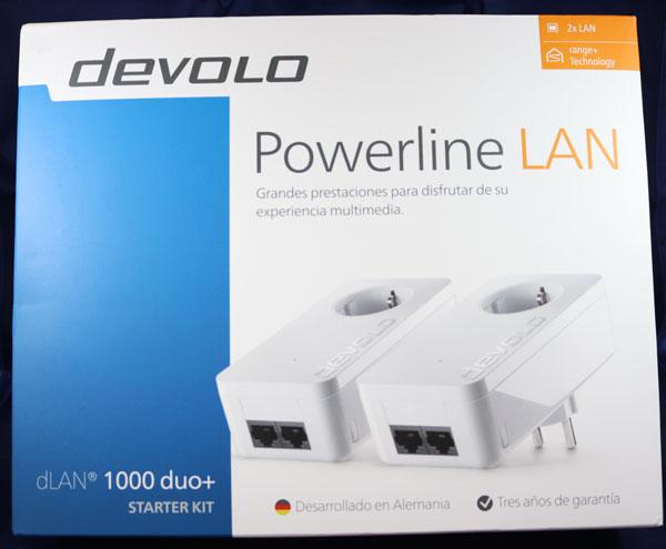 hemos probado Devolo dLAN 1000 duo+ caja por fuera
