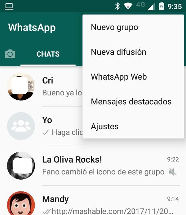 whatsapp website movil