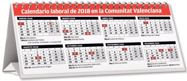 Calendario laboral de Valencia