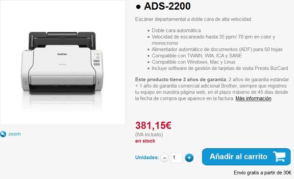 escaner ads2200