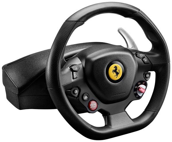 Ya podréis jugar con el volante del Ferrari 488 GTB en PlayStation℗ 4