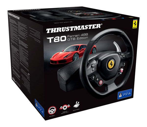 volante Thrustmaster T80 Ferrari 488 GTB Edition precio