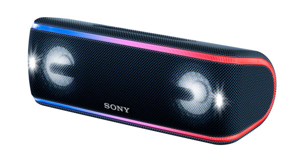 Sony SRS-XB41, altavoz Bluetooth con iluminación multicolor