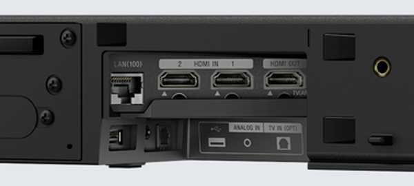 Conexiones Sony HT-ZF9