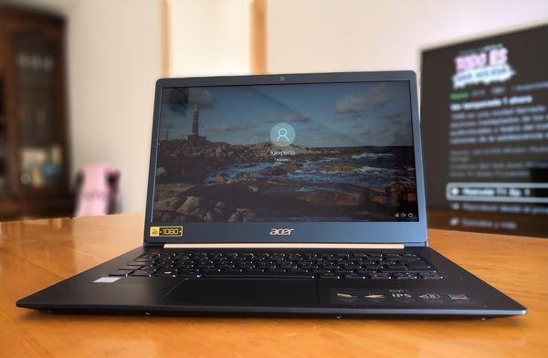 Acer Swift 5, lo hemos probado