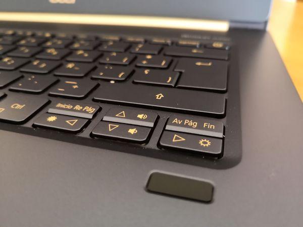 Acer Swift 5 teclado