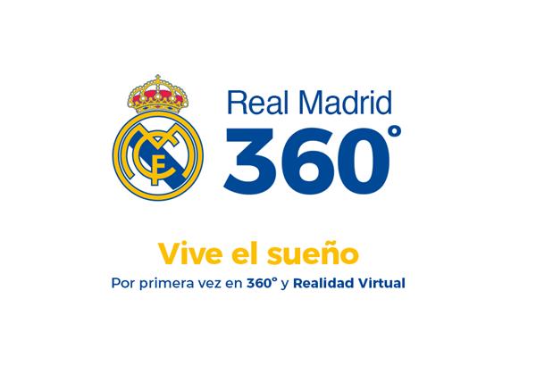 El Real Madrid estrenará un canal con contenidos 360 y VR