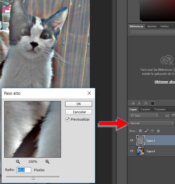 Mejorar una fotografía con Photoshop 003 - Filtro de paso alto