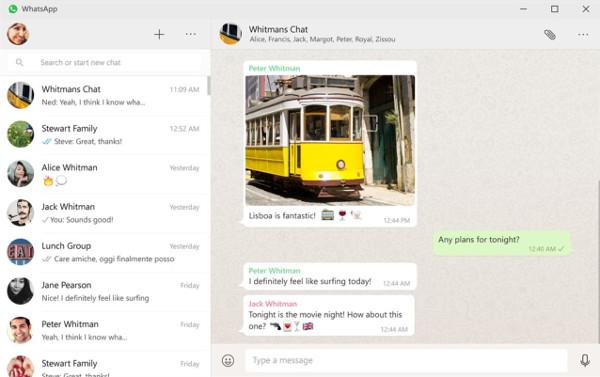 WhatsApp Desktop aplicación para <stro data-recalc-dims=