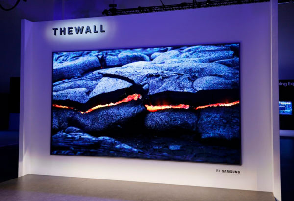 posible televisor OLED de Samsung℗ The Wall