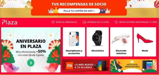 cupones aliexpress moviles