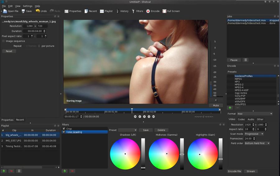 Programas de edicion de video gratis – Shotcut