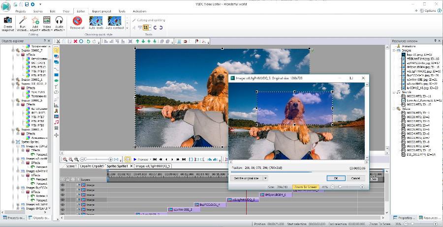 Programas de edicion de video gratis - VSDC Video Editor