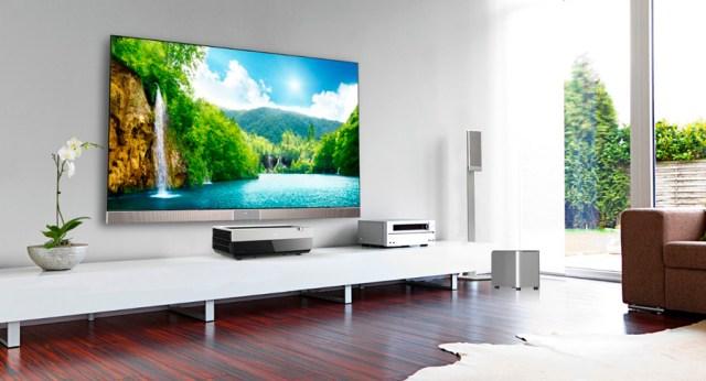HISENSE Láser TV, pantalla de hasta 100 pulgadas con solución 4K