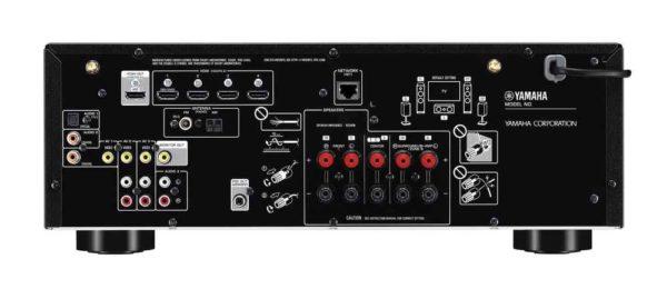 Yamaha rx-D485 fotografías 01