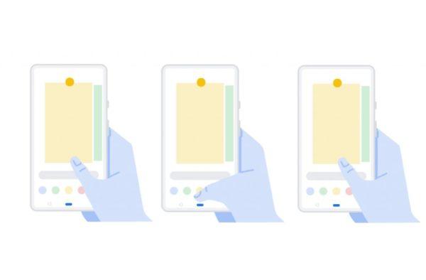 Android P Gestos