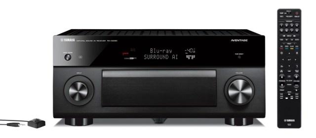 Yamaha RX-A2080, receptor AV con 9.2 canales y sistema MusicCast