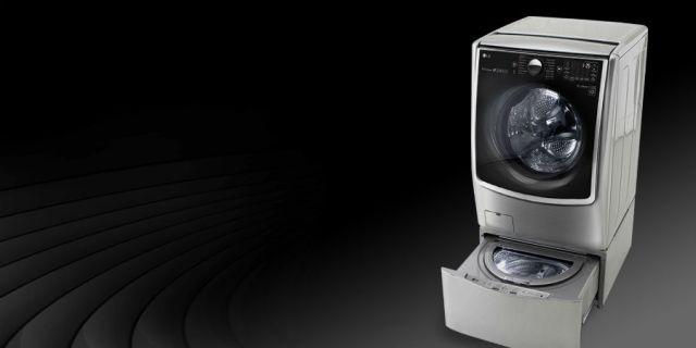 LG TWINWash, una lavadora para hacer dos coladas al mismo tiempo