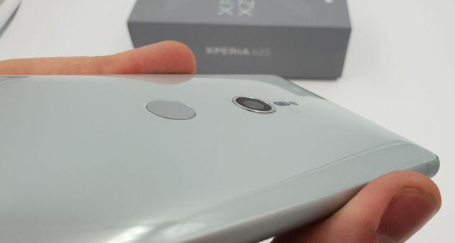 Sony Xperia(móvil) XZ2 lector huellas dactilares