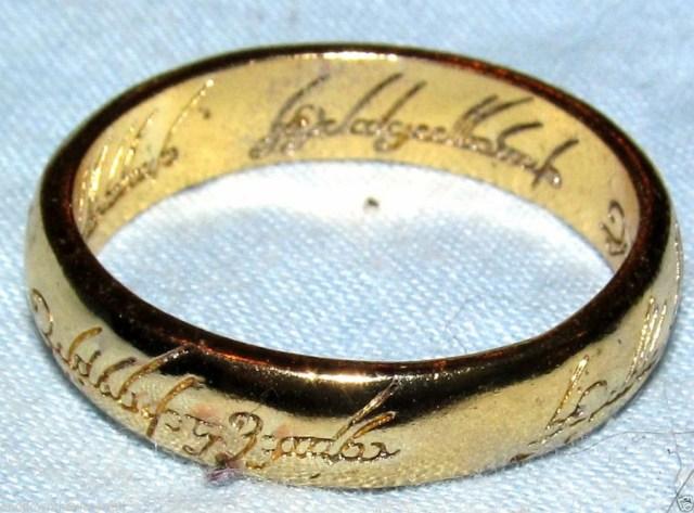 anillo exclusivo