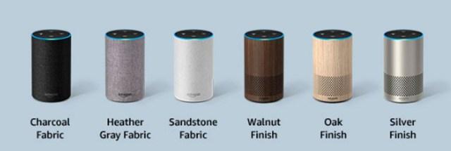 hemos probado Amazon℗ Echo con Alexa acabados