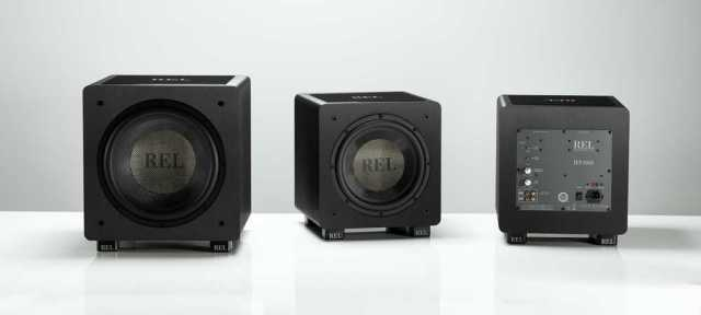 REL Acoustics HT/1205 y HT/1003, cajones de graves para cine y música