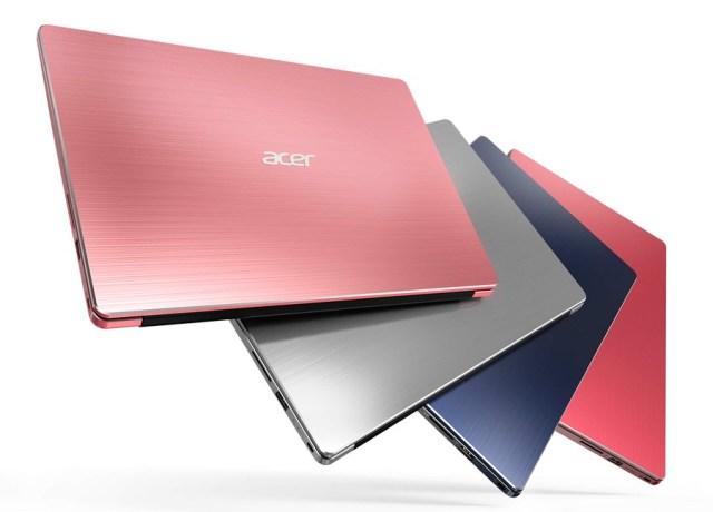 5 mejorías de los portátiles Acer℗ Swift colores 5