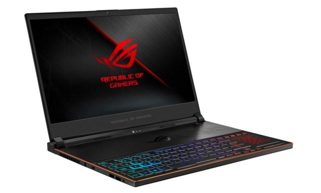Asus Zephyrus S, un portátil gaming muy delgado