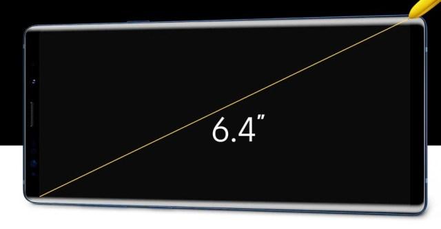 lanzamiento Samsung℗ Galaxy℗ Note 9 pantalla