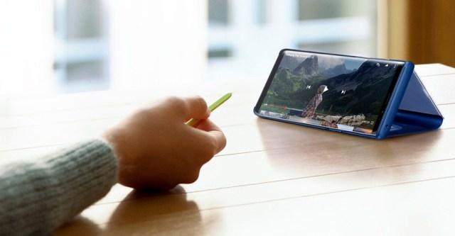 lanzamiento Samsung℗ Galaxy℗ Note 9 S Pen control remoto
