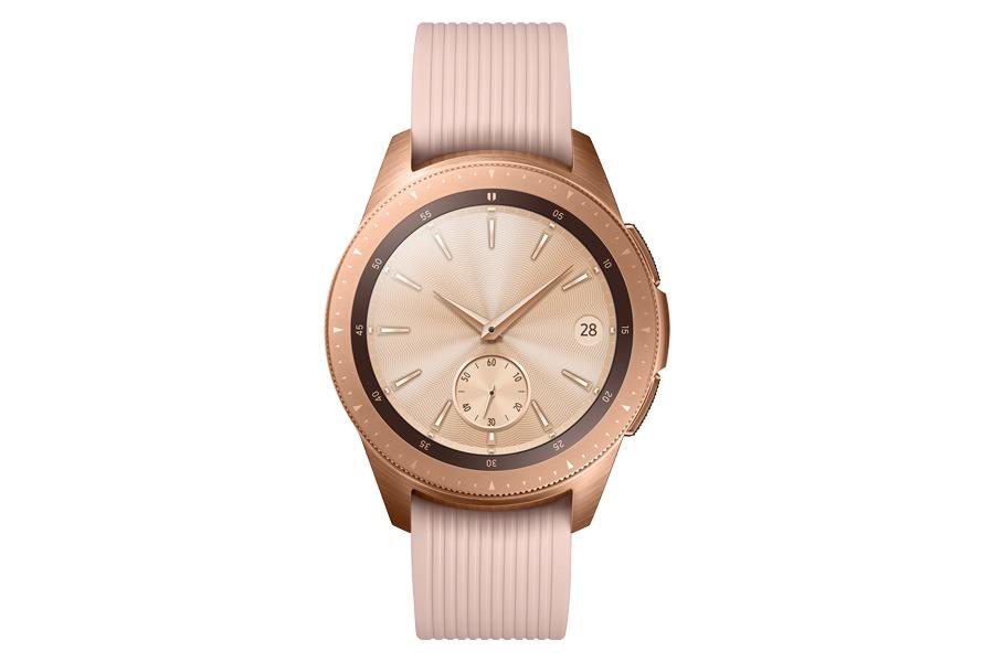 lanzamiento Samsung Galaxy Watch rosa frontal
