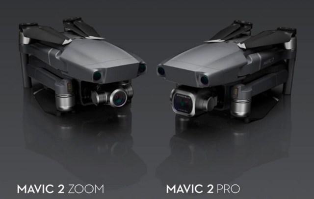 DJI Mavic 2 Pro y Mavic 2 Zoom, nuevos drones con cámara Hasselblad