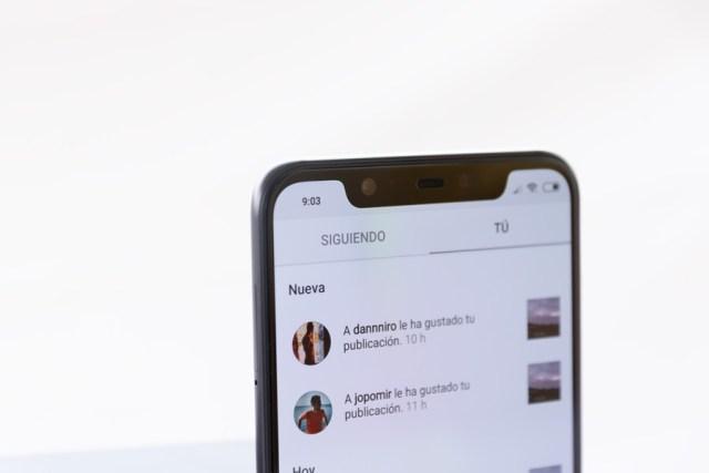 hemos probado Xiaomi℗ Mi 8 muesca en app