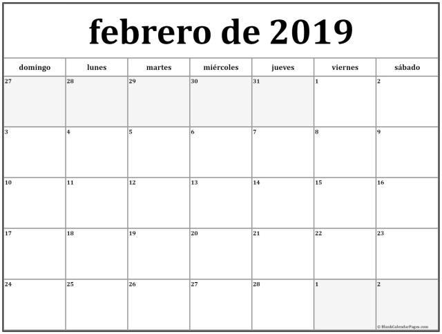 Febrero de 2019