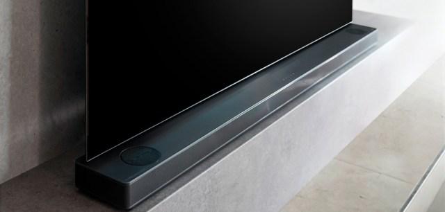 LG SK10Y, barra de sonido Hi-Res con Dolby Atmos y tecnología Meridian