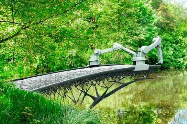 Un puente y otras 5 construcciones sorprendentes hechas con impresoras 3D