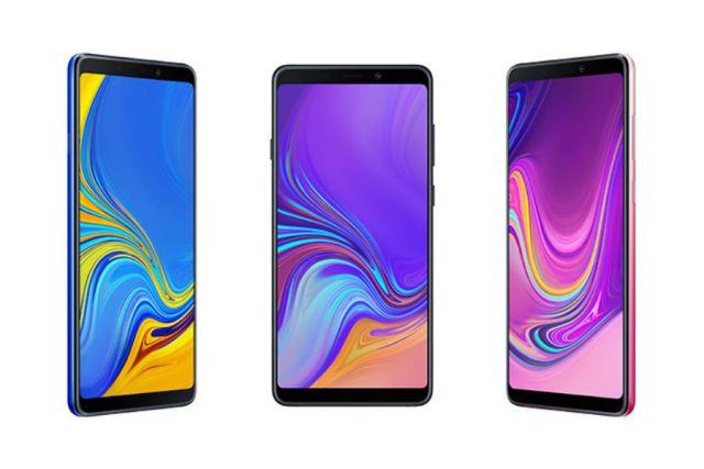 Samsung Galaxy℗ A9, el 1er terminal de Samsung℗ con 4 cámaras traseras