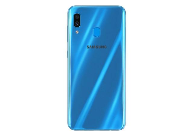oficial Samsung℗ Galaxy℗ A30 trasera azul