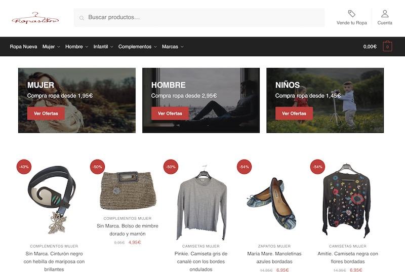 8 Páginas Para Vender Y Comprar Ropa De Segunda Mano Online Ensegundos Do