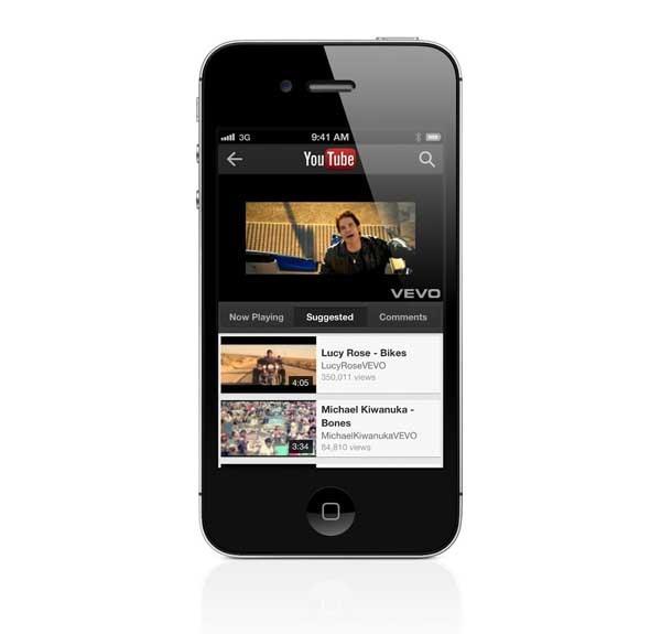 nuevo youtube ios6