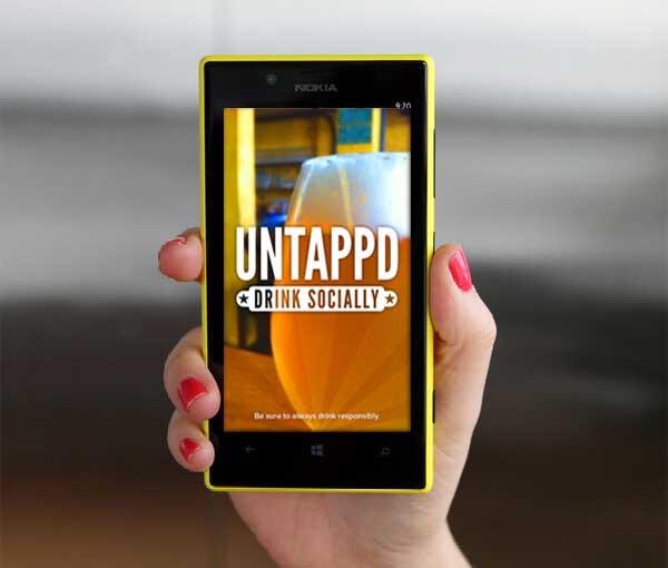 Foto-presentación: Foto de la aplicación Untappd- Un buscador de cervezas similar a 4square