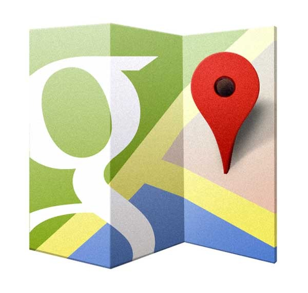 google maps terreno