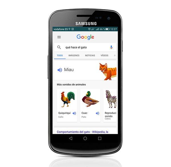 Permalink to Cómo reproducir sonidos de animales en el buscador de Google
