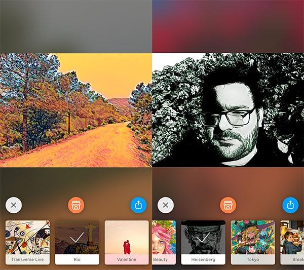 apps retocar fotos iPhone prisma