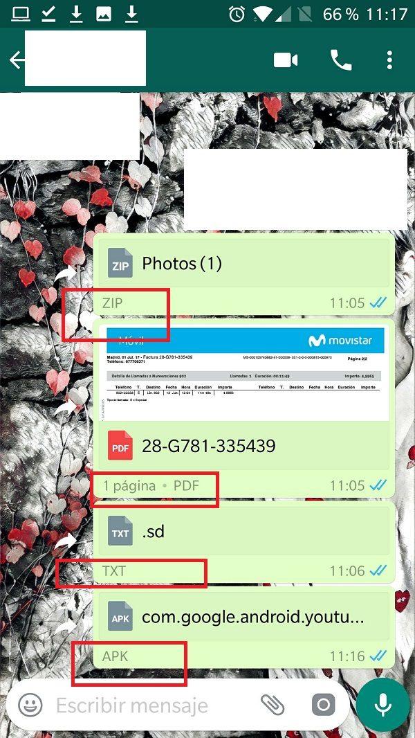 novedades de WhatsApp compartir archivos whatsapp