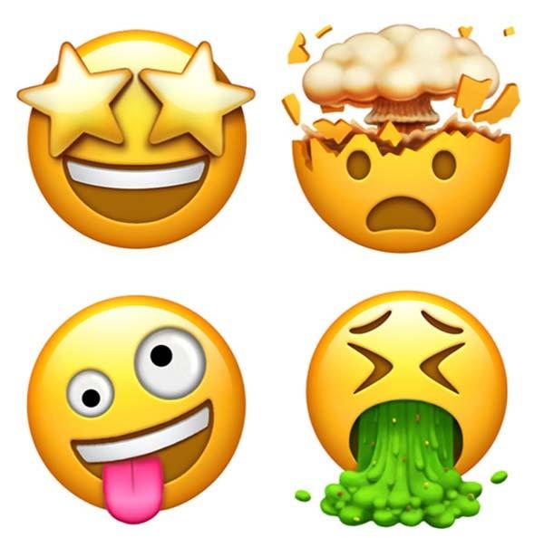 Emoji Del Calendario.Estos Son Los Nuevos Emoticonos Emoji Que Llegaran A