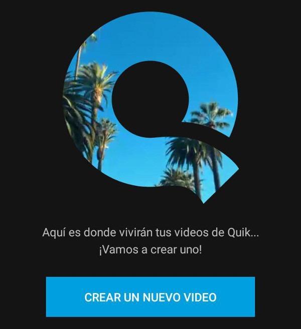 Quik editar video en ©Android edicion 02